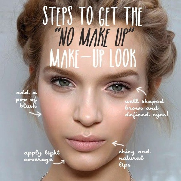 Image result for no makeup make up look image