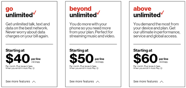 What plans does Verizon offer? - Quora