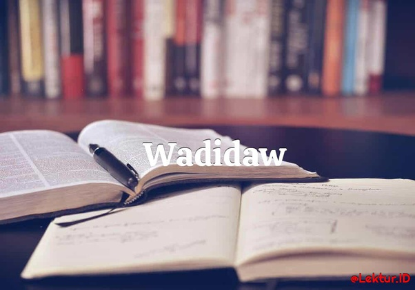 Apa Itu Arti Kata Wadidaw Quora