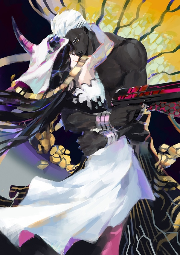 Why Does Emiya Alter Look Like A Gangster Quora Not the mumei (無銘, lit. why does emiya alter look like a