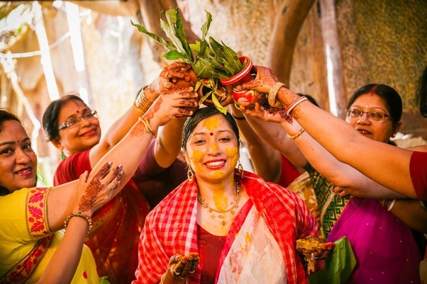 What are the rituals of the Bengali wedding and costumes? - Quora