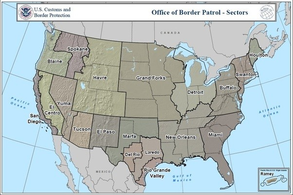 Where Is The Least Secure Area Of The USMexico Border Located - Where is buffalo located