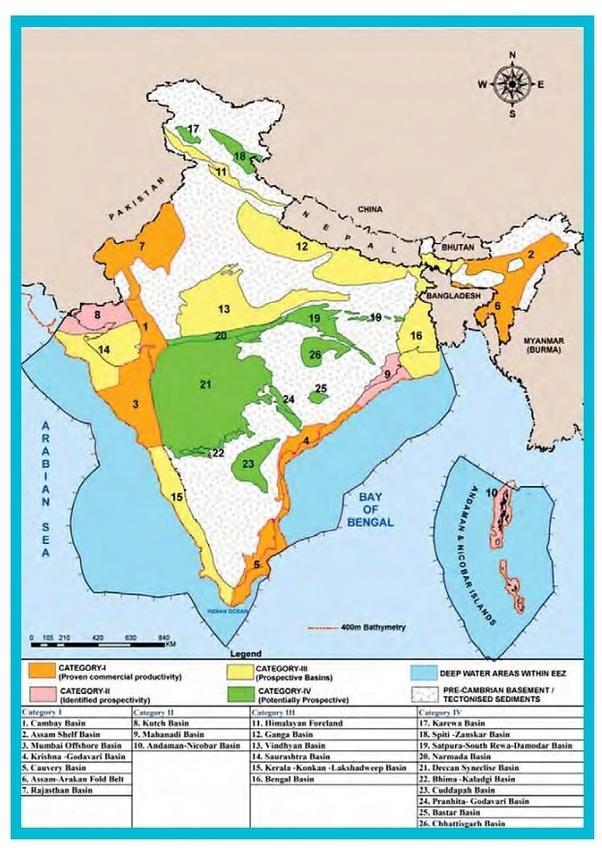 Where is petroleum found in India? - Quora
