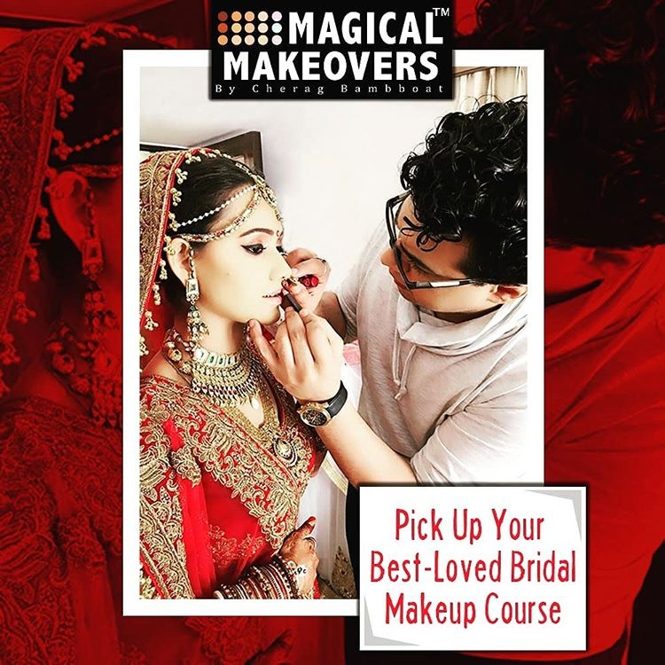 He is also a renowned Bollywood Makeup Artist in Mumbai has many years of experience in performing celebrity makeup & fashion makeup.