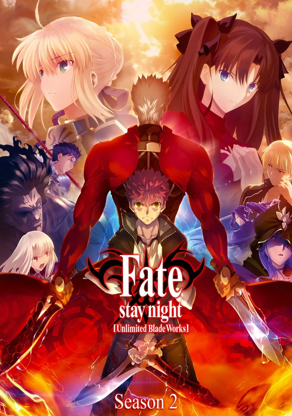 In what order should I watch the Fate anime series? - Quora