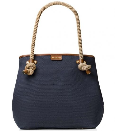 6a45a7f2bcdc You would find that the original Michael Kors bags have a clean and  continuous stitch that the fake ones don't. The fake ones would have  broken, ...