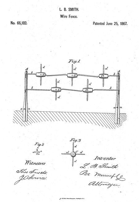 who invented the barbed wire? quora line drawing of barbed wire lucien smith of ohio is the original inventor of barbed wire several others invented similar products following his invention
