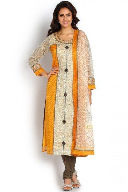 Do I buy online salwar kameez / sarees stitched or unstitched? - Quora