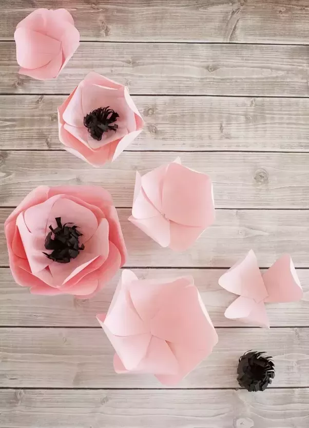 What are some creative ways to make paper flowers step by step quora step 8 assembling the paper flowers mightylinksfo