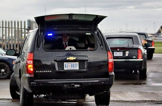 Us Secret Service Police Car