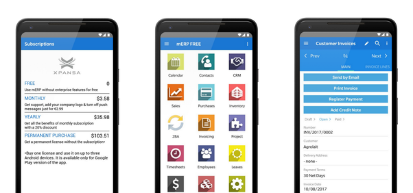 How to use Odoo ERP with a mobile app - Quora