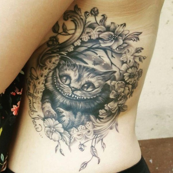 What Are Some Good Cheshire Cat Tattoo Ideas?