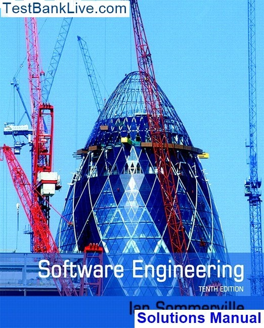 Software engineering ian sommerville 9th edition solution manual.