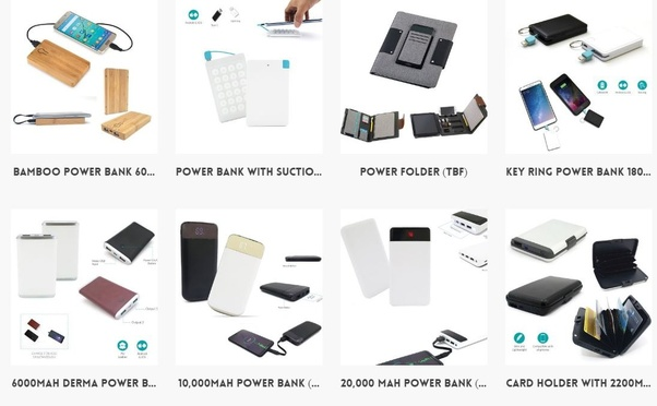 Who is the best supplier of customized power banks for promotions