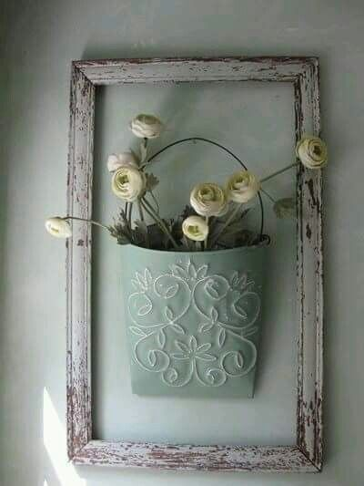 Using Empty Frames For Your Decor Is A Fresh And Practical Way Outdoor Walls It Can Give An Eye Catching Look To Exterior