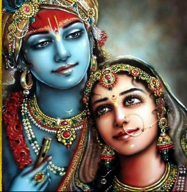 Can Anyone Send Me A Picture Of Lord Krishna With Radha That Is Colourful And Sweet Quora