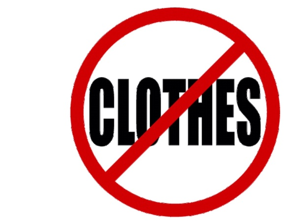 What is the first clothing item that you'll going to take