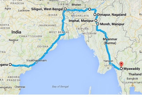 I am planning to travel by road from hyderabad india to singapore from siliguri its easier to enter any of these countries bhutan nepal or bangladesh but i will recommend you if you want to explore middle nepal like gumiabroncs Images