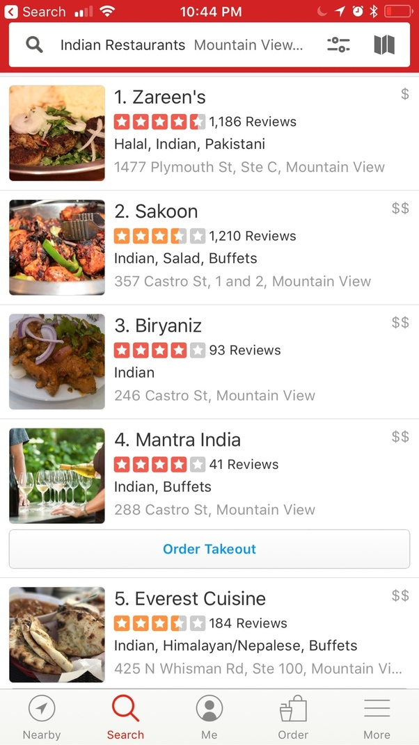 Which Is The Best Indian Restaurant In Mountain View Quora