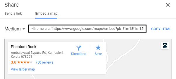 How to embed Google Maps into a webpage - Quora