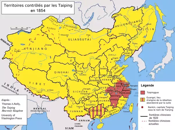 To What Extent Were The Actions Of The Empress Dowager Cixi - Cixi map