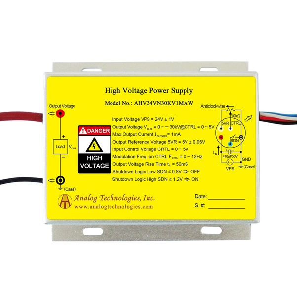 Are there negative-voltage or high-voltage power supplies? - Quora