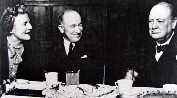 Image result for benes with churchill