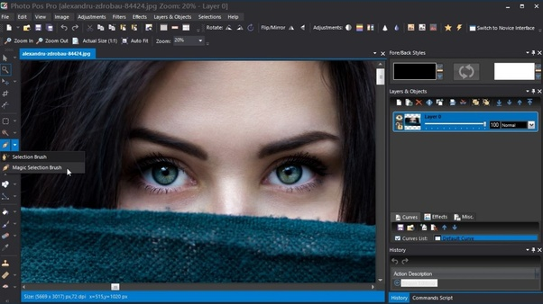 Which software do professional photographers use to edit their