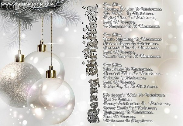 What are some good Christmas alliteration poems? - Quora