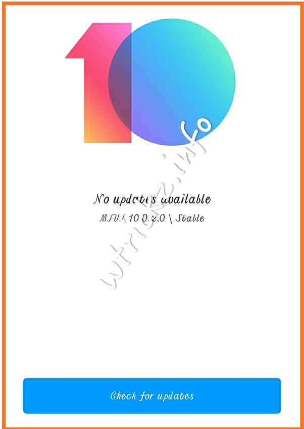 How to download the MIUI 10 stable ROM on my Redmi Note 5 - Quora