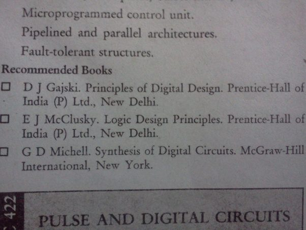 Which are the books should i refer for amie section b electronics digital hardware design fandeluxe Image collections