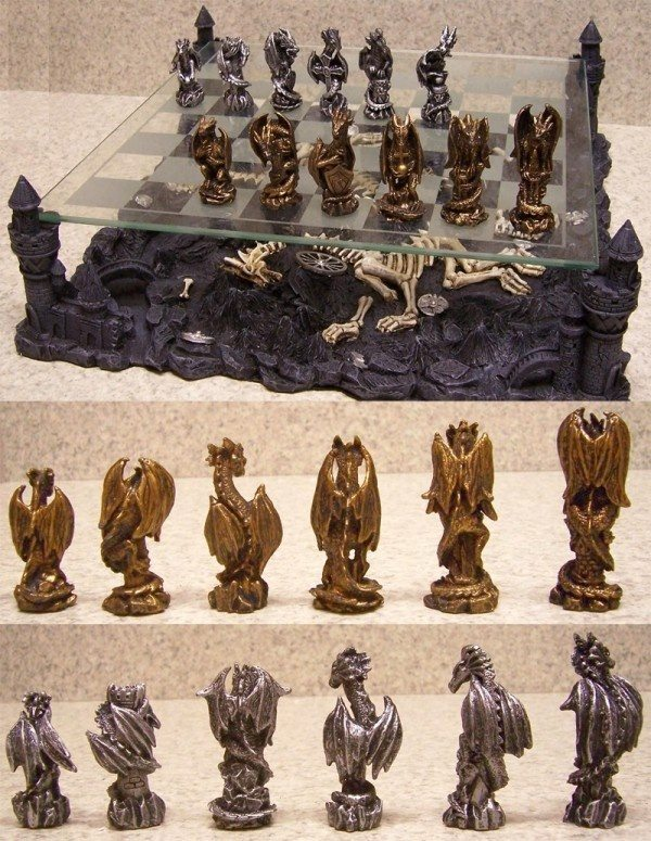 Beautiful 11 |Buy It: AmazonFantasy Fans Will Love This Dragon Chess Setu2013another Good  Option For Home Libraries, Or Even A Computer Games Room.