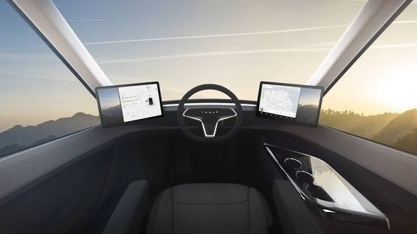 Why does the Tesla Semi have only one seat in the front? - Quora