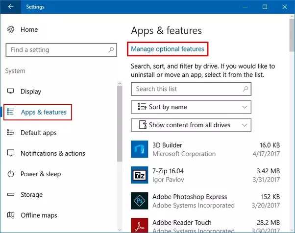 how do one turn off windows 10 auto optional feature download quora