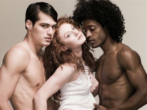 lesbian threesome trib from behind in bathroom