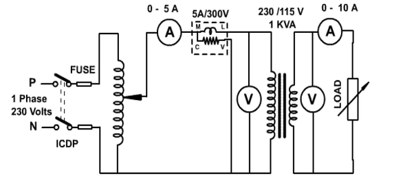 what is the direct loading method to find out efficiency of transformer