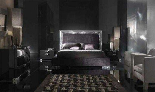 Espresso Bedroom Furniture Often Looks Like Black But Itu0027s Really A Dark  Brown Finish. | Source