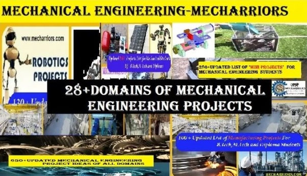 I am a mechanical engineering student and planning for a project