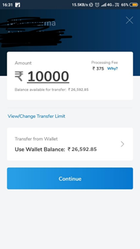 How to send money from my credit card to my bank account in India