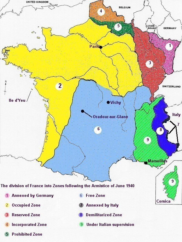 Why did hitler not occupy all of france during world war two quora the germans didnt see the need to occupy the whole country at the time since the zones under their occupation all of frances seashore on the english gumiabroncs Gallery