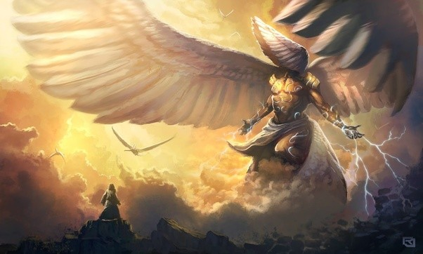 if there are supernatural entities eg angels demons