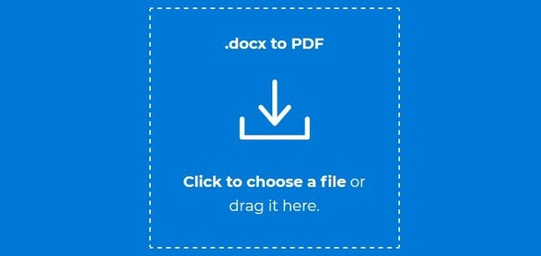 How to convert DOCX files into PDF files - Quora