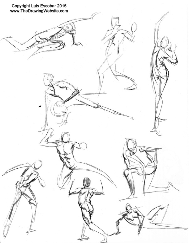What are the differences between figure drawings, gesture drawings ...