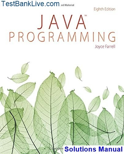 Where can I get Solutions for Java programming by Joyce