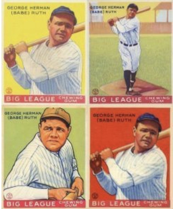 How Much Is A Babe Ruth Baseball Card Worth Quora