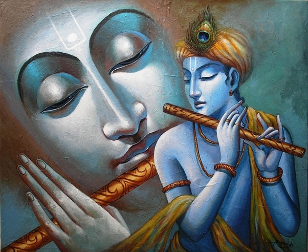 Who Is The Artist Whose Paintings Of Krishna Usually Are