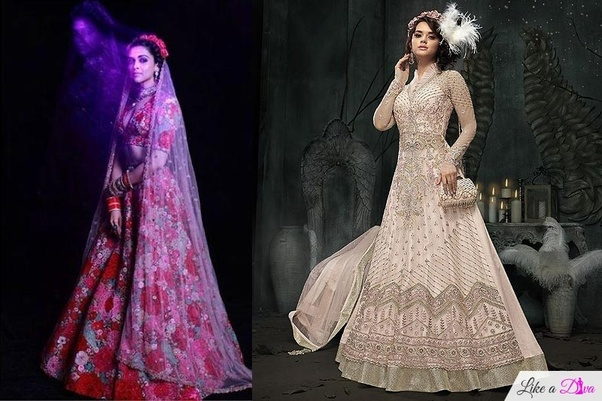 08e0dc166add What are the most beautiful bridal looks in India  - Quora