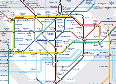 Who designed the London tube map Quora