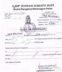 Bbmp Property Tax For Vacant Site