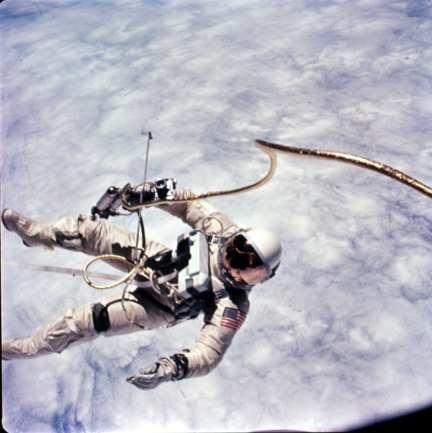 Image result for astronaut safety line